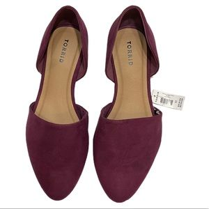 TORRID Highland Thistle D'Orsay Flats Shoes Pointy